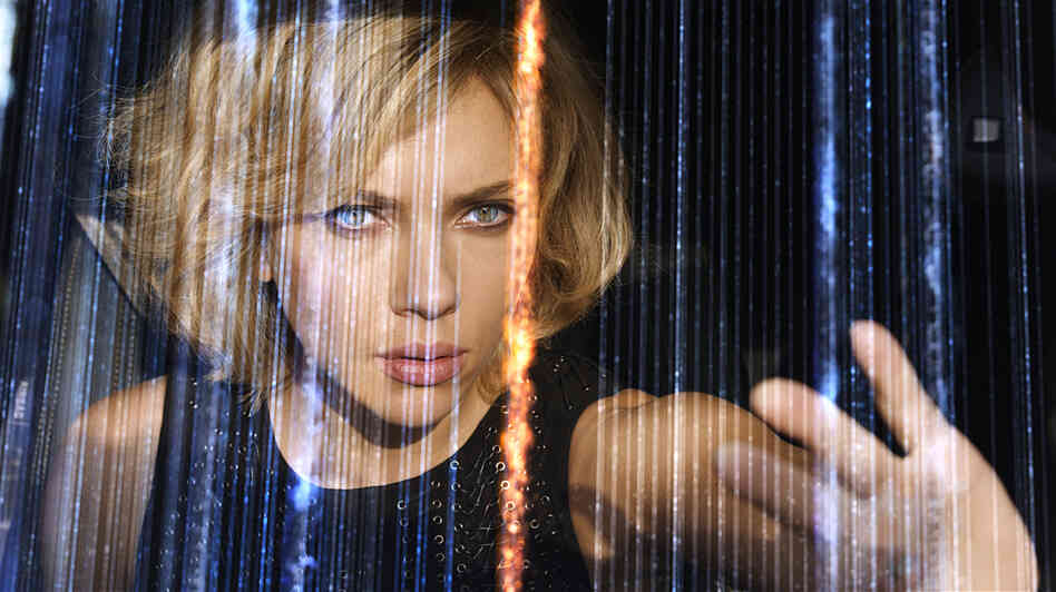 Based on the theory that humans only use 10% of their brains, science-fiction film Lucy explores the possibilities when humans use full mental capacity through the title character played by Scarlett Johansson.