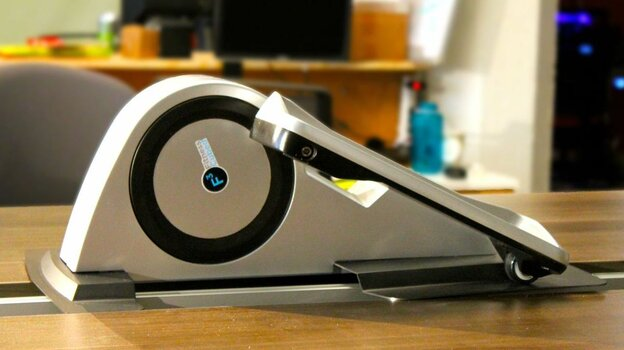 Cubii is a Kickstarter project that allows users to exercise — elliptical style — while sitting at their desk at work.