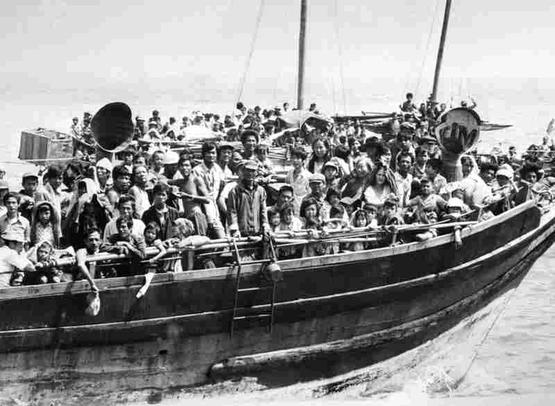 """In the 1970s, Iowans provided shelter to refugees fleeing the Vietnamese war (the """"Vietnamese boat people"""")."""