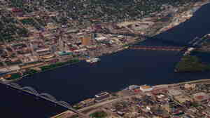 The city of Davenport, Iowa, is home to about 100,000 people. The city's mayor, B
