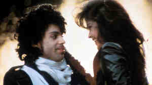 """I never wanted to be your weekend lover"": Prince and his Purple Rain costar Appolonia Kotero."