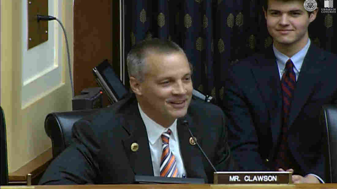 """Speaking about India, Rep. Curt Clawson told U.S. officials from the State and Commerce departments, """"I am familiar with your country. I love your country."""""""