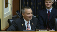 Speaking about India, Rep. Curt Clawson told U.S. officials from the State and Commerce departments,
