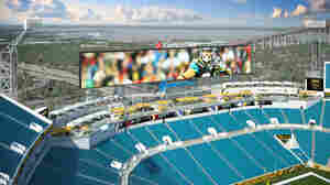 At Jaguars' New Stadium, Come For The Football Or The Swimming
