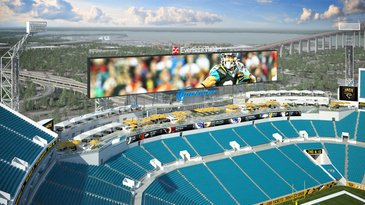 At jaguars 39 new stadium come for the football or the for Pool builders jacksonville