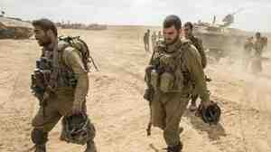 Israeli troops come out of the Gaza Strip on Friday following combat operations in the territory. Israel's military is the strongest in the Middle East, but has waged a series of protracted fights in recent years without winning clear-cut victories.