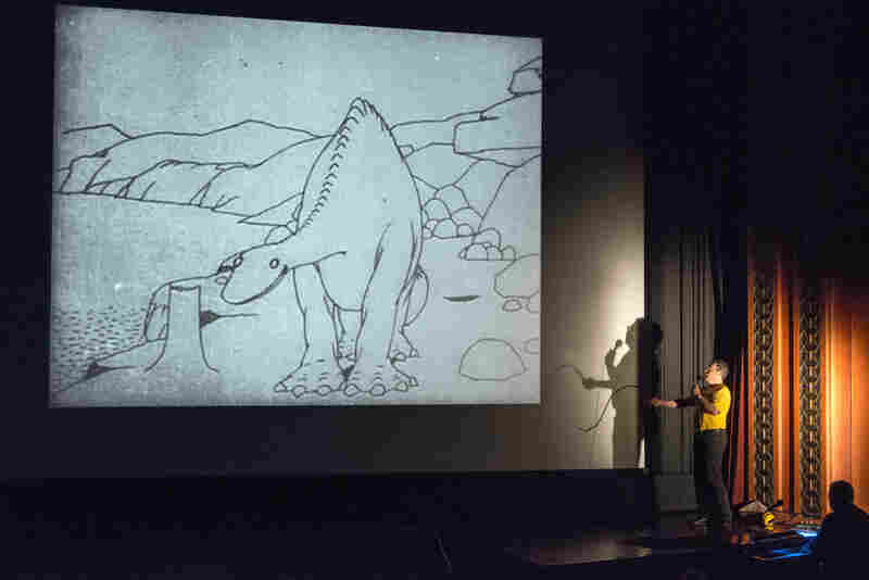 The Library of Congress started their Mostly Lost workshop to help identify films from its archives. The event also includes presentations from early film experts like Serge Bromberg, who this year recreated the stage performance that was part of the 1914 animated film Gertie the Dinosaur.