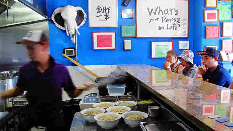 At Yume Wo Katare, eating ramen is treated as a path to personal fulfillment.