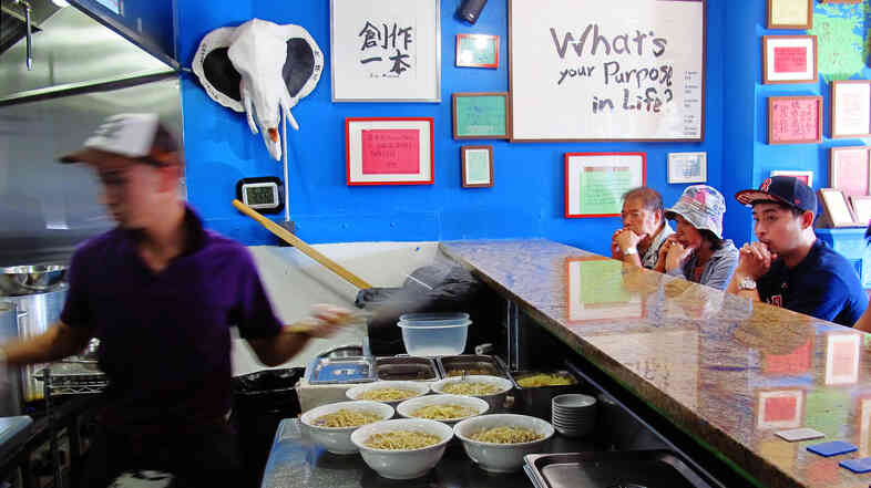 At Yume Wo Karate, eating ramen is treated as a path to personal fulfillment.