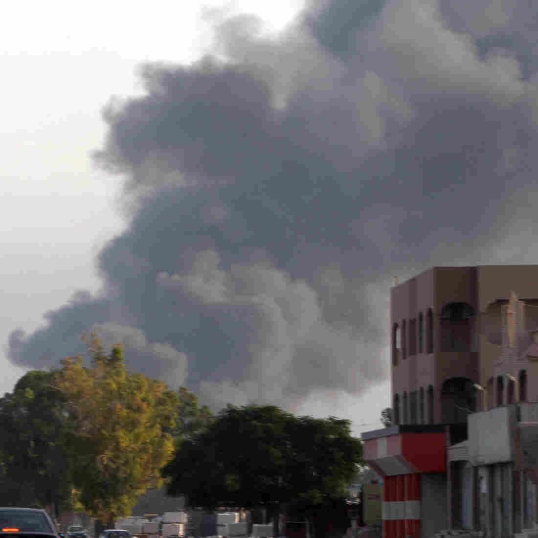 U.S. Embassy Compound In Libya Shut Down Amid Fighting