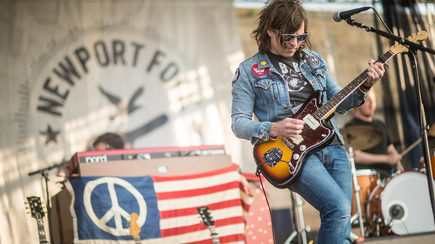Andrea Echeverri: Ryan Adams: Newport Folk 2014 : NPR