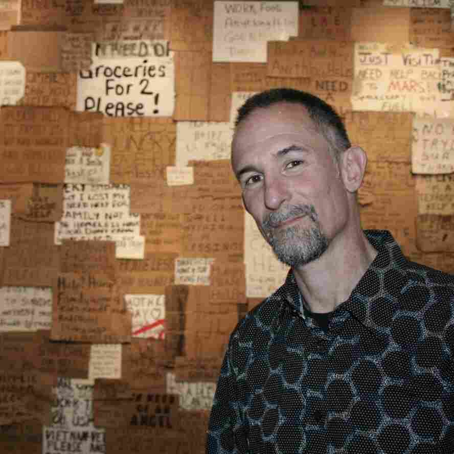 Handmade Signs From Homeless People Lead To Art, Understanding