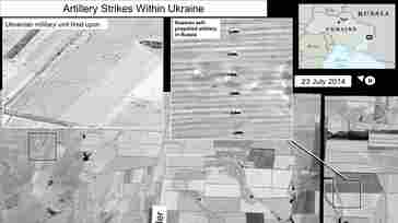 U.S.: Satellite Images Show Russian Rockets Hitting Ukraine