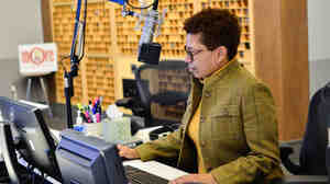 Michel Martin, host of the NPR program Tell Me More, has won an Emmy, among other accolades, for her work in journalism.