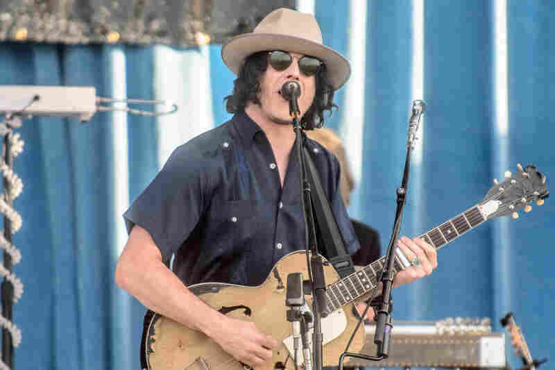 """Jack White ran through the gamut of Americana during his headlining set on Saturday, including a version of """"Hotel Yorba"""" with a Nashville twang."""