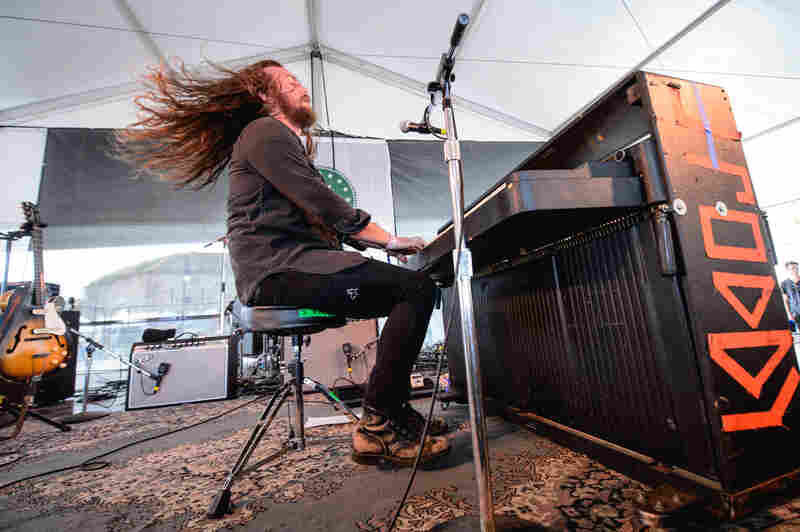 """This is folk music. You gotta get sweaty!"" — J. Roddy Walston & The Business"