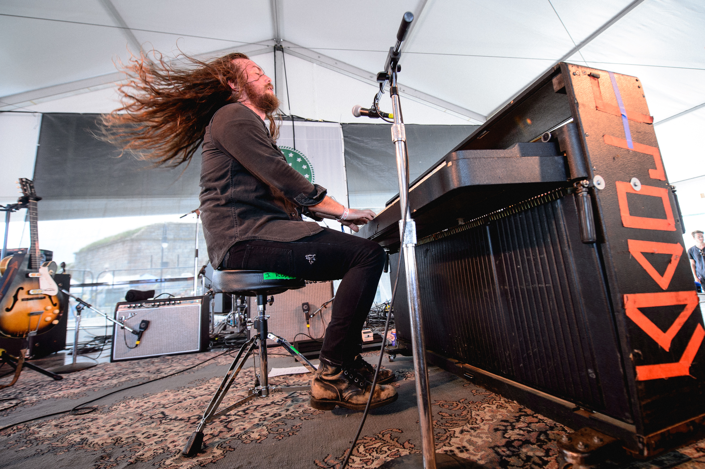 """This is folk music. You gotta get sweaty!"" -- J. Roddy Walston & The Business"
