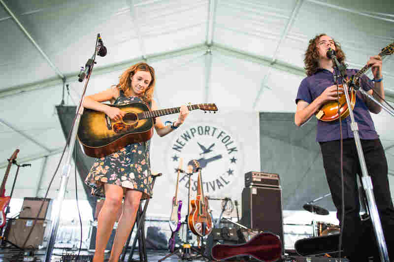 """Once you play the Newport Folk Festival, you graduate from bars, right?"" —Mandolin Orange"