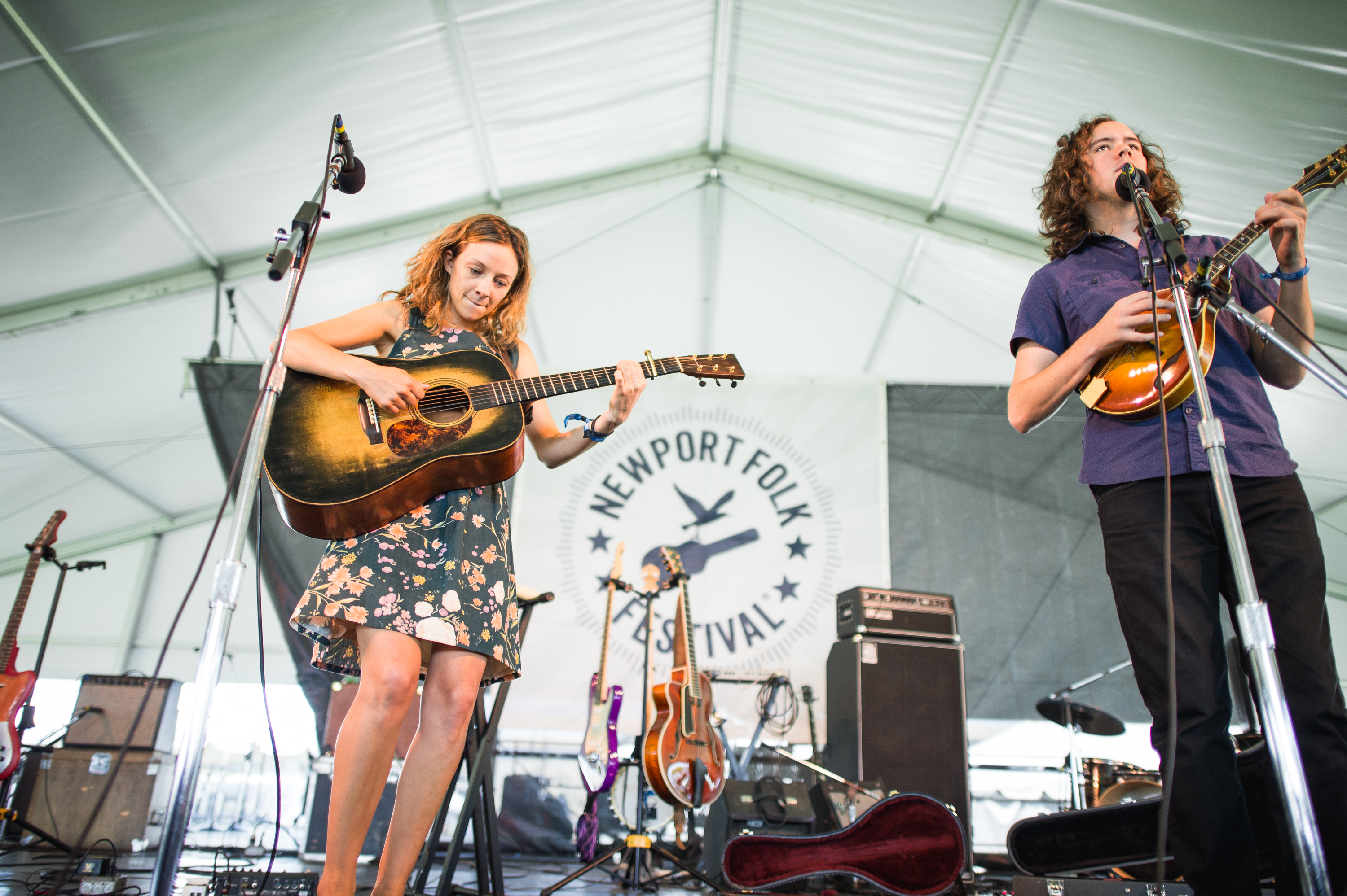 """Once you play the Newport Folk Festival, you graduate from bars, right?"" --Mandolin Orange"