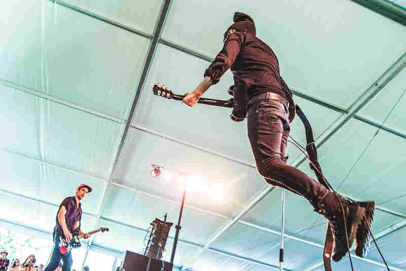 Reignwolf catches some serious air.