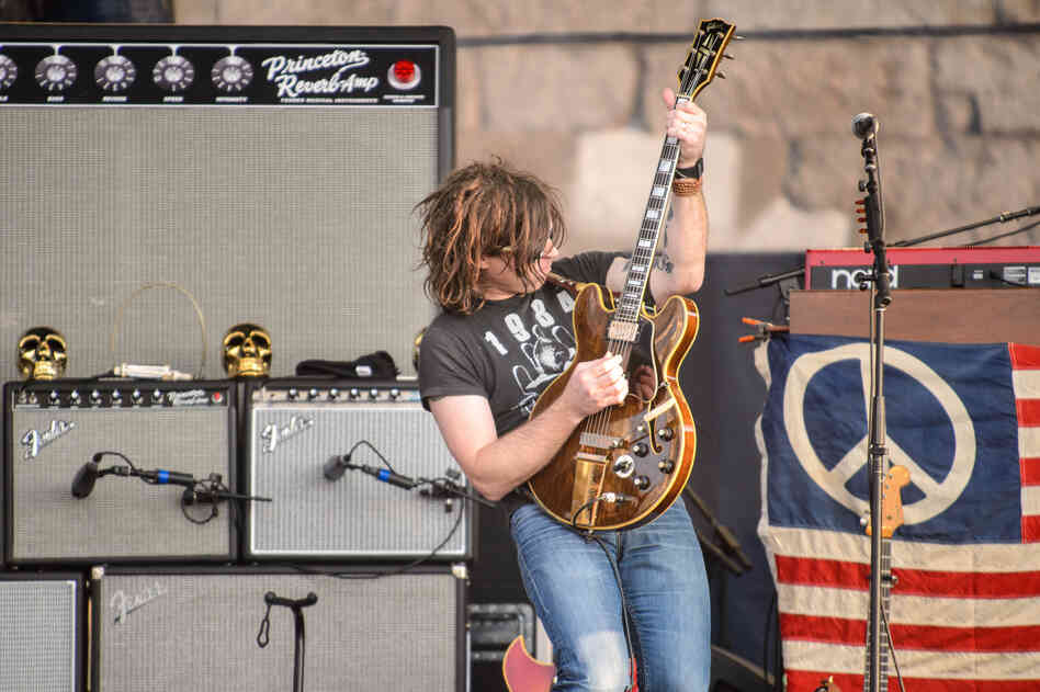 "In what is probably a first for Newport Folk, Friday night headliner Ryan Adams broke out a cover of Danzig's ""Mother."""