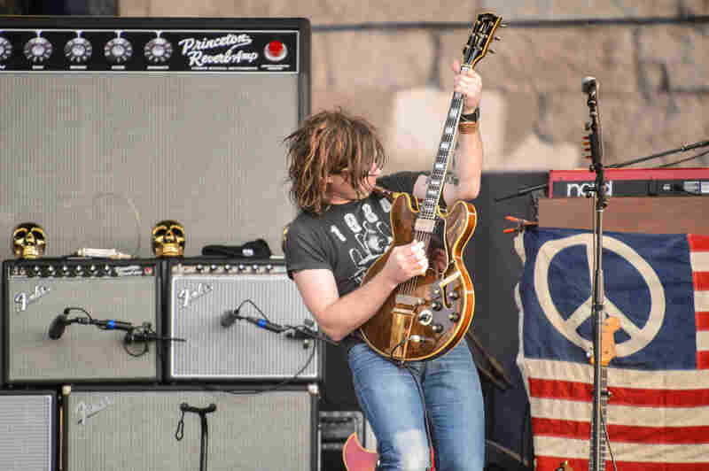 """In what is probably a first for Newport Folk, Friday night headliner Ryan Adams broke out a cover of Danzig's """"Mother."""""""