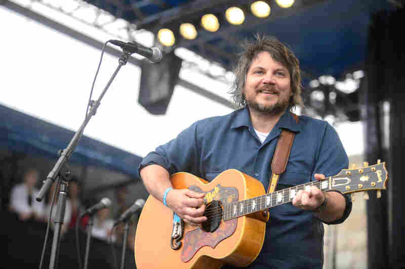 Jeff Tweedy's solo set featured members of the band Lucius.