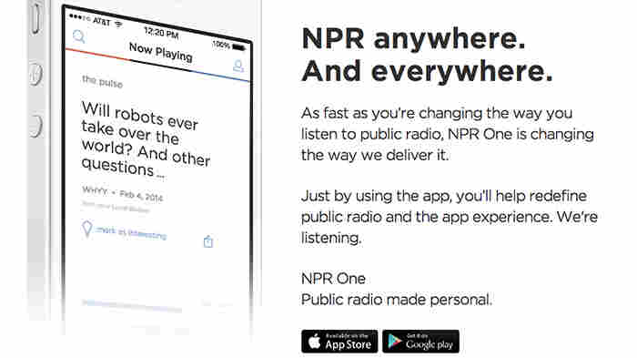 Meet the new NPR One, a digital listening app that blends NPR and Member Station news.