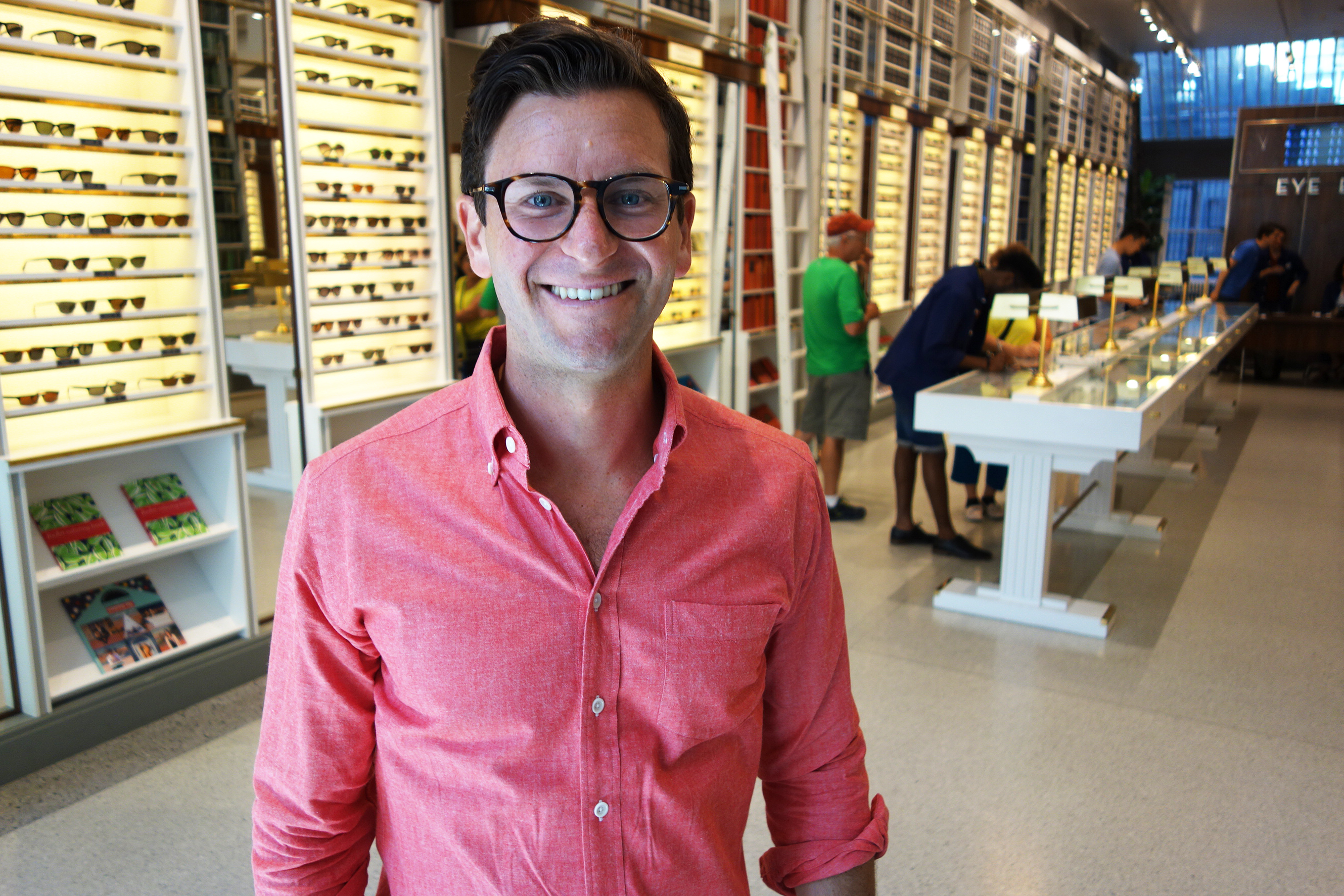 Dave Gilboa is co-founder of Warby Parker, the primarily online eyewear store. Warby Parker experimented with a variety of pop-up locations before settling into a longer-term lease.