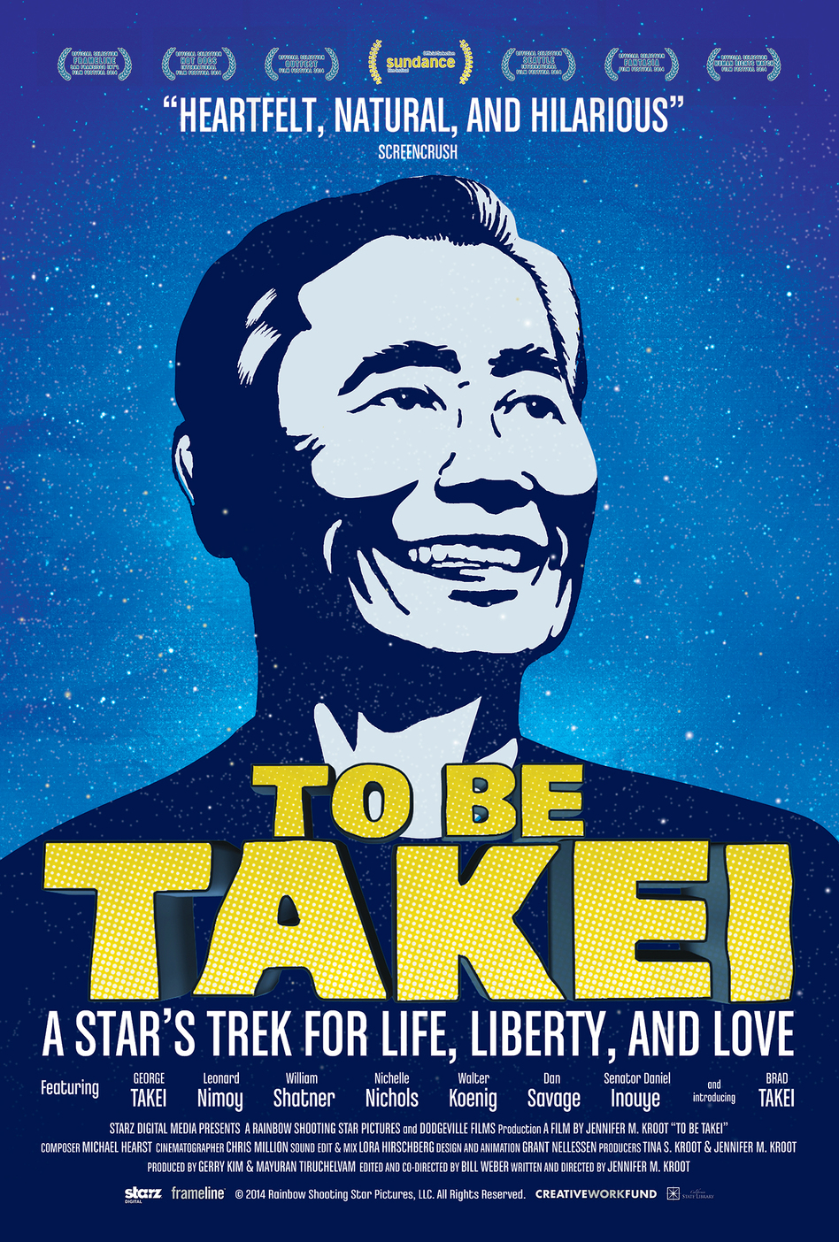 <em>To Be Takei</em> was an official selection for the Sundance Film Festival.