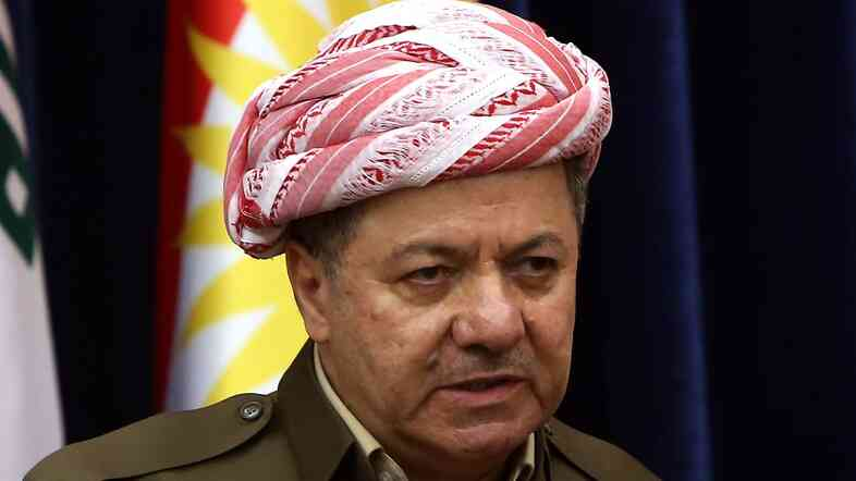 At a news conference last month, Iraqi Kurdish leader Massoud Barzani said there was no going back on autonomous Kurdish rule in the oil center of Kirkuk