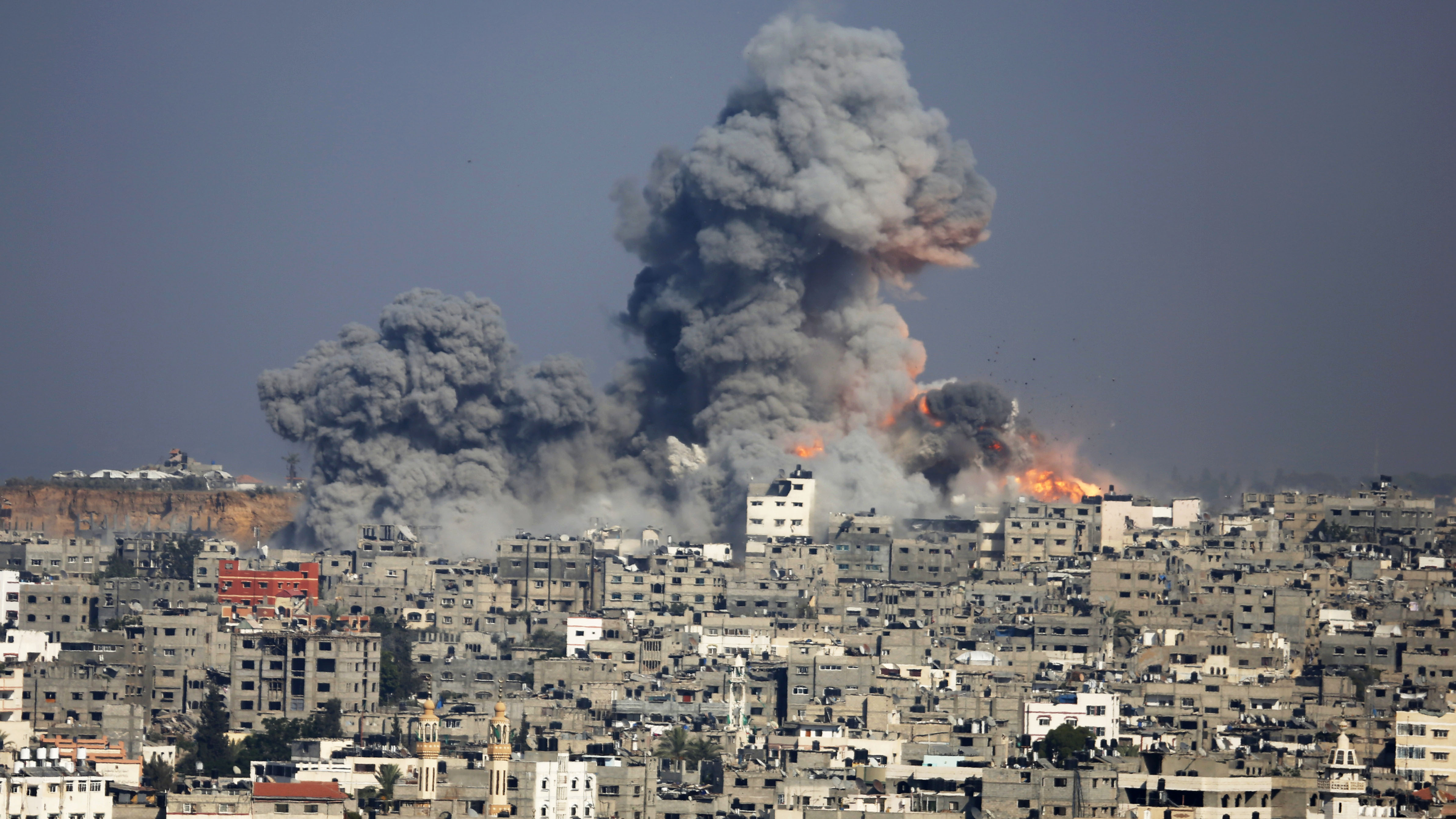 Israeli Bombing Ruins Gaza's Only Power Plant