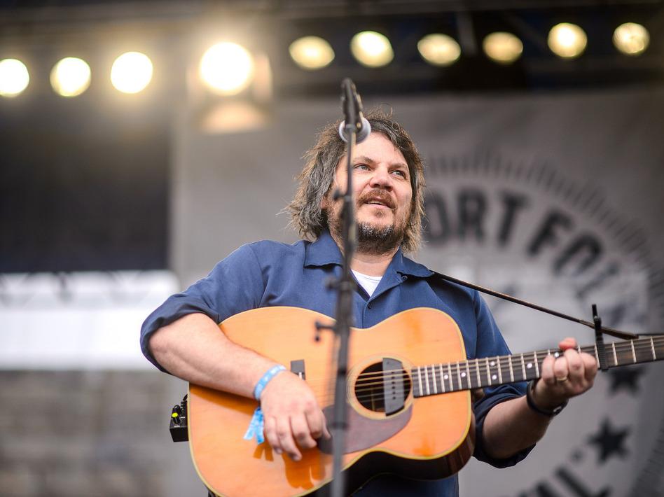 Jeff Tweedy performs at the 2014 Newport Folk Festival.