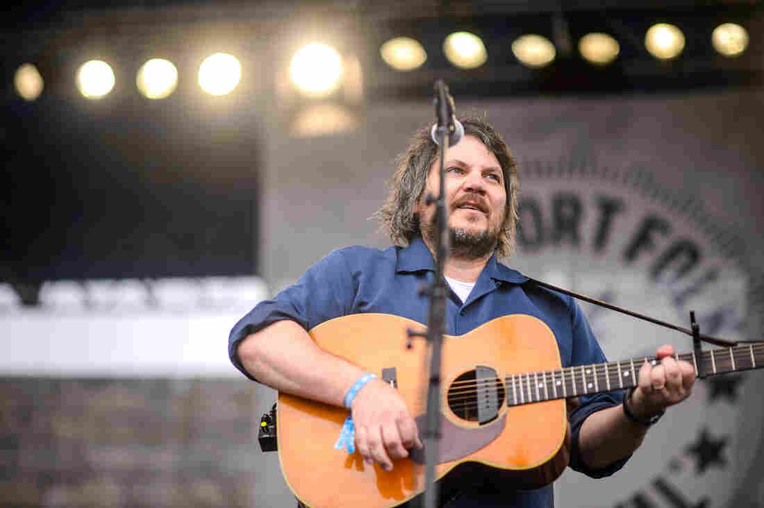Jeff Tweedy performs at the 2014 Newport Folk Festival.