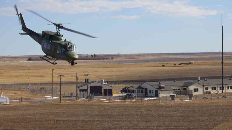 Getting a pizza delivered to a remote nuclear missle base is tricky. Unfortunately, the Air Force won't let you use its helicopters.