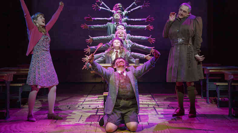 Matilda is currently being performed on both Broadway, pictured here, and the West End. In New York, according to the Broadway League, the average ticket price just crossed $100 for the first time.