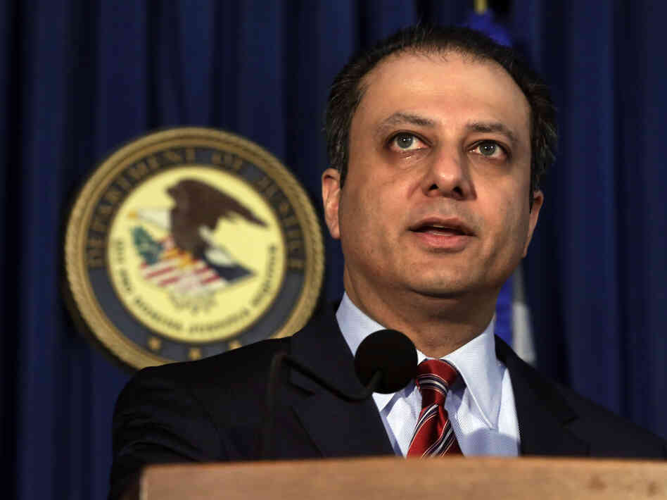 U.S. Attorney Preet Bharara applauded a judge's ruling in a major fraud case.