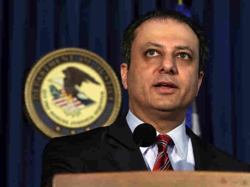 U.S. Attorney Preet Bharara applauded a judge's ruling in a major fraud case.