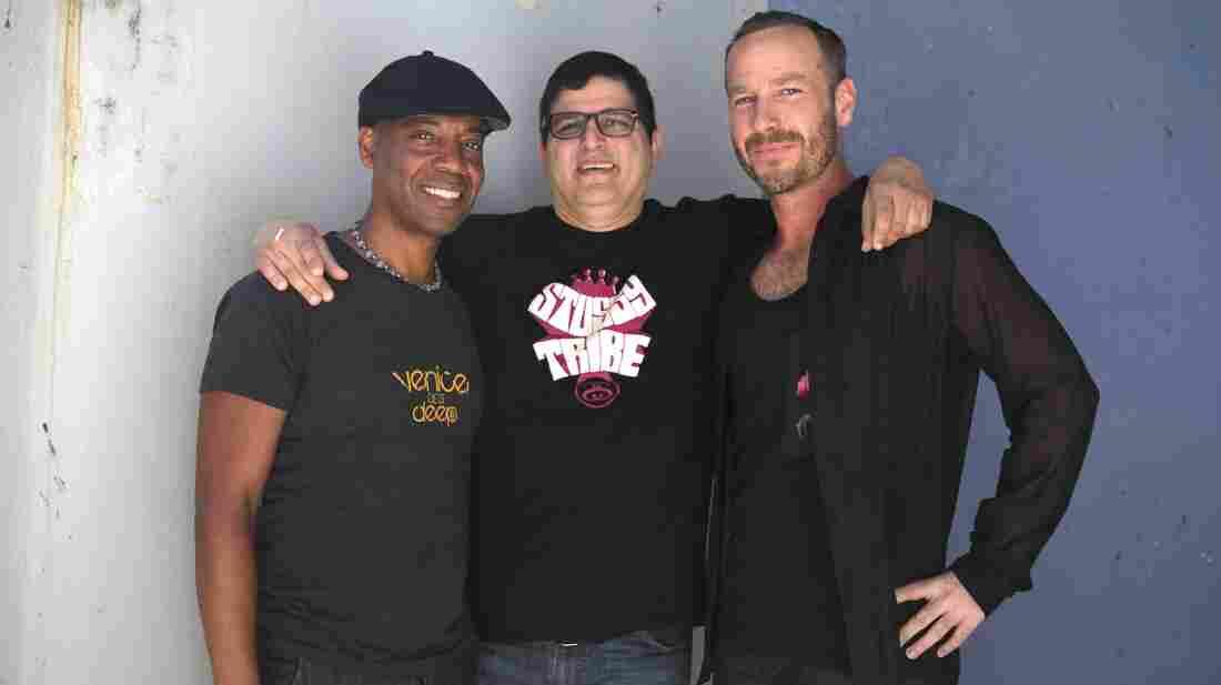 Marques Wyatt, Doc Martin and Jason Bentley.