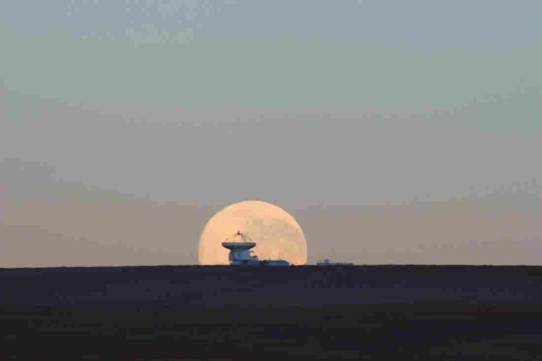 All of our scientific tools have limits. These limits ensure that we will never see the whole picture. We can never have complete knowledge of the universe. Above, the ESO's APEX radio telescope probes the heavens from its lonely perch on Chile's Chajnantor plateau.