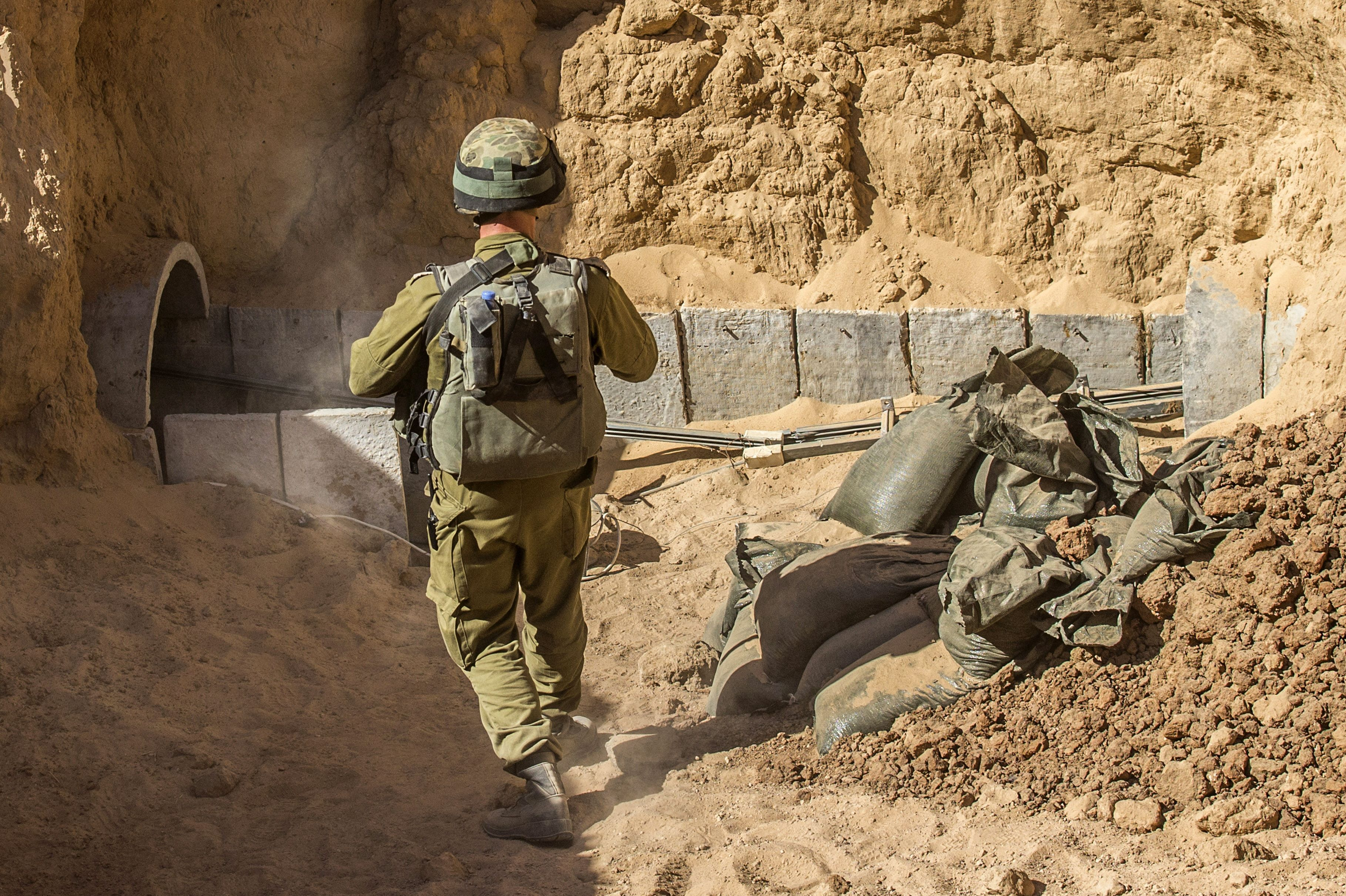 Gaza's Network Of Tunnels Is A Major Hole In Israel's Defenses