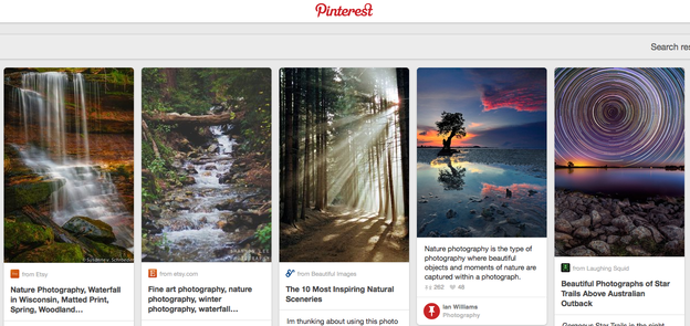 "Pinterest has created a database of ""things in the world that matter to human beings,"" says Al"