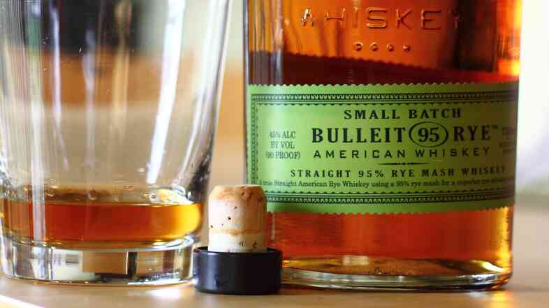 Bulleit is one of 50 different brands a food blogger says is using whiskey from an Indiana factory.