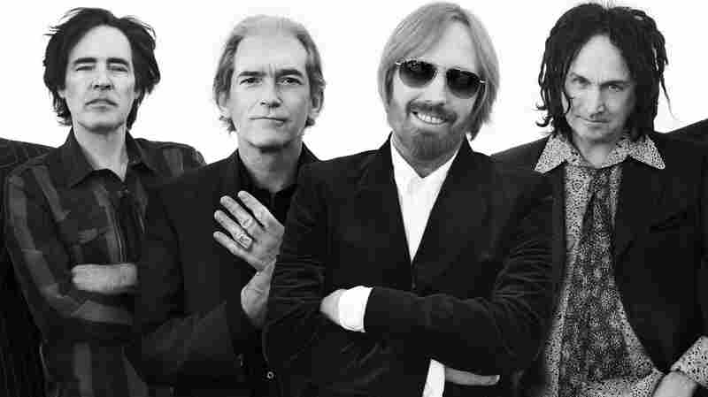 From left: Ron Blair, Benmont Tench, Tom Petty, Mike Campbell. Their new album is Hypnotic Eye.