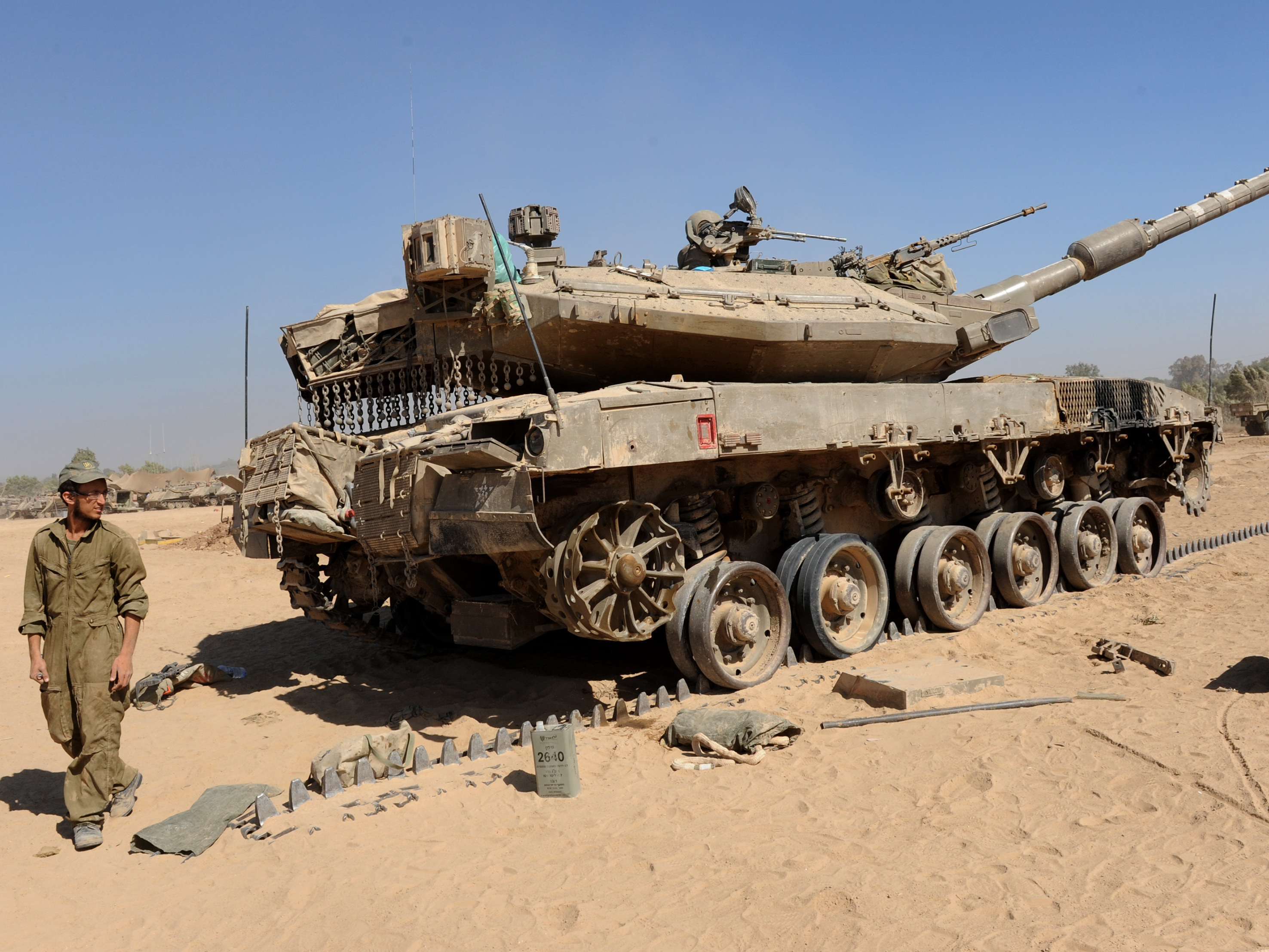 Israel Allowed To Tap U.S. Munitions Cache For Gaza Offensive