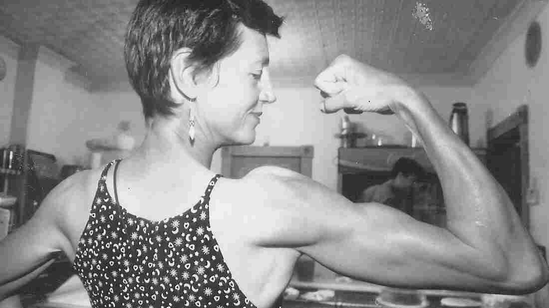 More than four decades working as a bricklayer gave Barbara Moore calloused, aching hands — and these biceps.