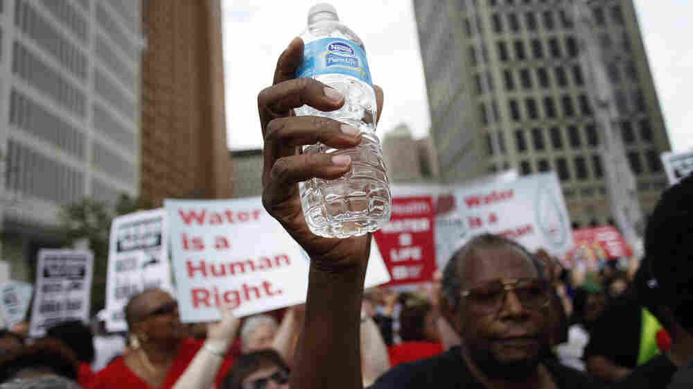 A Right Or A Privilege? Detroit Residents Split Over Water Shut-Offs