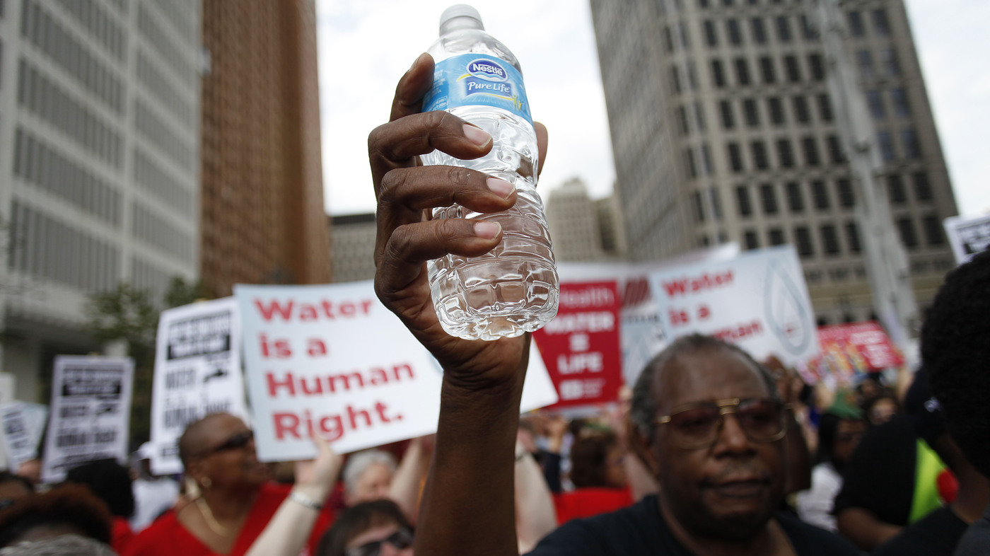 A Right Or A Privilege Detroit Residents Split Over Water Shut Offs
