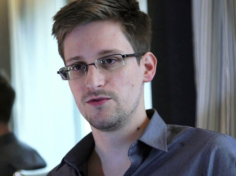 This photo provided by The Guardian in London shows Edward Snowden, who worked as a contract employee at the National Security Agency, in Hong Kong last year.