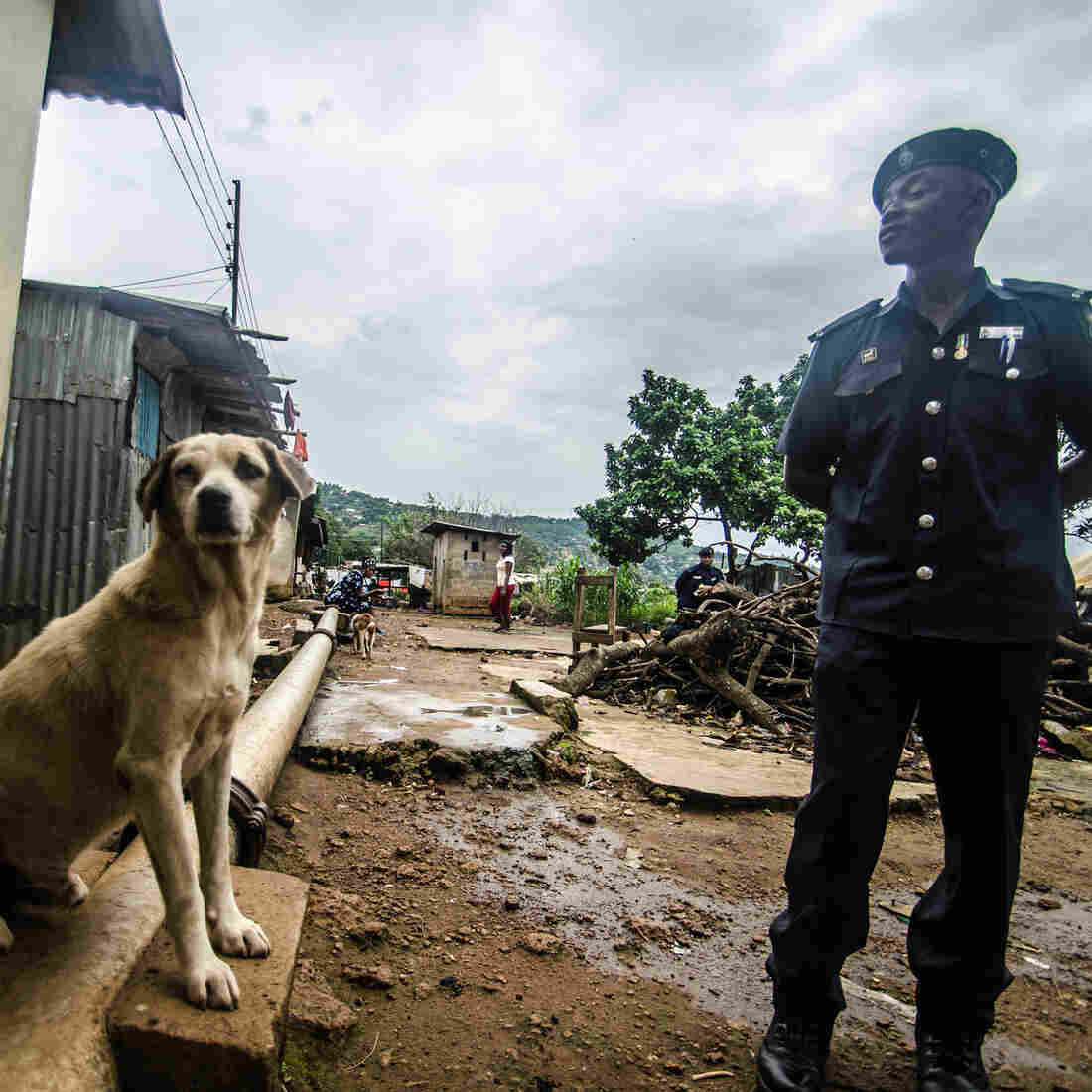 An Ebola Quarantine In Freetown: People Come And Go As They Wish